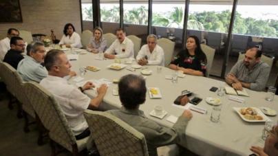 Por un Sinaloa Mejor | Quirino sostiene encuentros con diputados y senadores