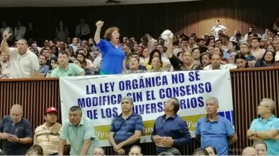 Presentan reforma contra reelección en la UAS; universitarios defienden Ley Orgánica