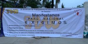Paro nacional | 25 universidades públicas del País entre ellas UAS exigen más recursos