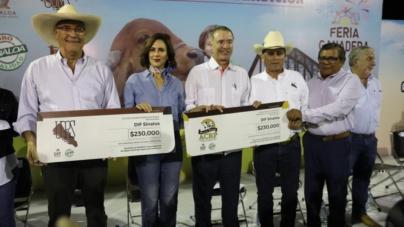 Arranca Feria Ganadera | Ganaderos donan 460 mil pesos al DIF Sinaloa