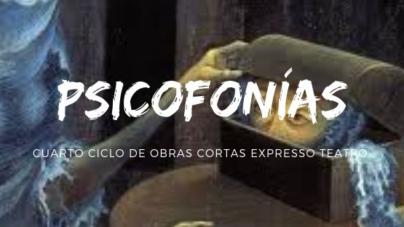 """Expresso teatro arrancará su cuarta temporada """"Psicofonías"""""""