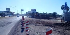 Tramo de bulevard Pedro Infante permanecerá cerrado por dos semanas: SSPyTM