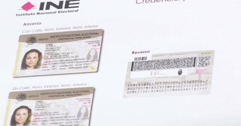 A partir de diciembre la credencial para votar en México incluirá un código QR
