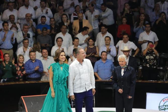 Informe entre líneas | Frente a Olga Sánchez, Quirino sugirió revisión a pacto fiscal