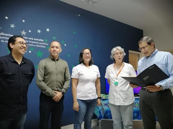 Apoyo a los niños | Actinver dona 147 mil pesos para Estrella Guía IAP
