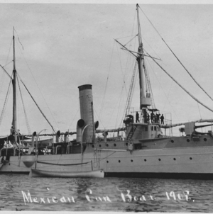 Localizan en Topolobampo a naufragio del cañonero 'Tampico', barco protagonista de la Revolución Mexicana