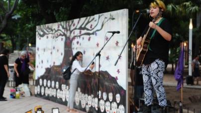 #VivasYLibresNosQueremos | Con música y poesía, feministas exigen alto a violencia de género