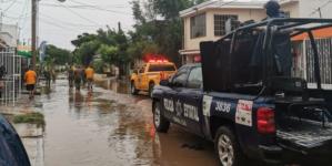 Por lluvias, solicitan declaratoria de emergencia para 4 municipios; Ejército aplica Plan DNIII