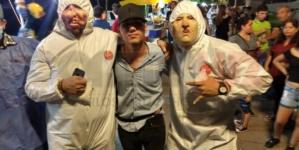 Halloween en Culiacán | Aparece 'Ovidio Guzmán' en el malecón nuevo