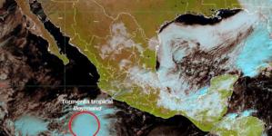 Se forma Raymond en el pacífico | Podría afectar a Sinaloa en los próximos días: SMN