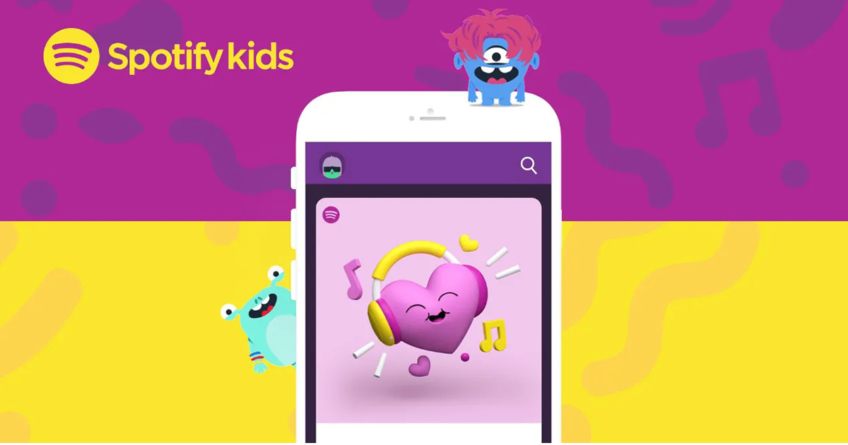 Spotify Kids   La nueva modalidad de la app con canciones infantiles