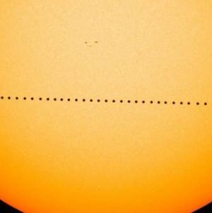 ¿Estás listo para observarlo? | Mercurio pasará frente al sol este lunes por la mañana