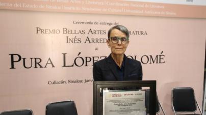 Una eterna aprendiz | Pura López Colomé recibe el premio Inés Arredondo 2019