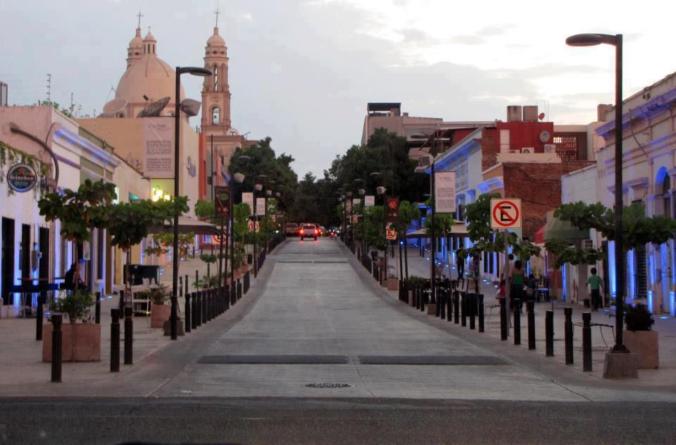 Camina Culiacán   El Paseo del Angel sería la primera calle 100% peatonal del Centro
