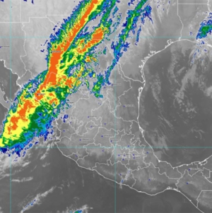 Lluvias invernales | Alerta SMN sobre posibles chubascos para Sinaloa las próximas horas