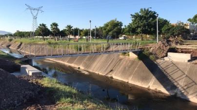 Amplian vida útil   Puente 'antipeatonal' será reutilizado en canal de bulevar agricultores