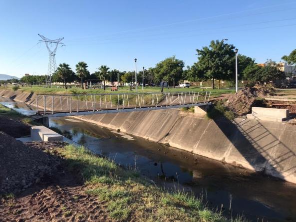 Amplian vida útil | Puente 'antipeatonal' será reutilizado en canal de bulevar agricultores