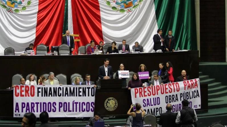Efecto ESPEJO | Motín de partidos evita les quiten 50% del financiamiento