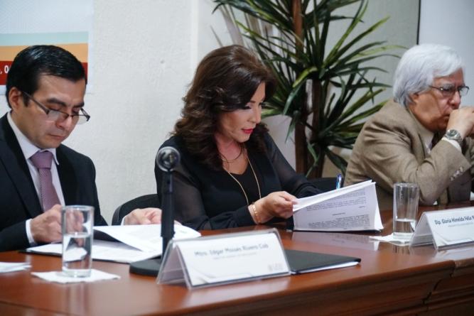 Firman convenio de colaboración Congreso del Estado y Senado