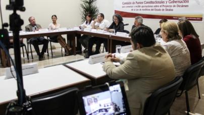 Abierta la consulta ciudadana para Ley de Archivos en el Congreso del Estado