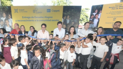 Escuelas Alegres | ProEduca y Coppel Comunidad apoyan a 9 escuelas de Culiacán y Navolato