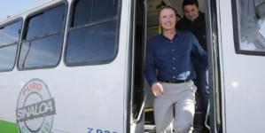 Anuncia Quirino que habrá mil camiones nuevos en Sinaloa para el 2020