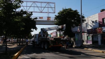Cerrarán bulevar | Inicia Ayuntamiento el retiro de puentes 'antipeatonales'