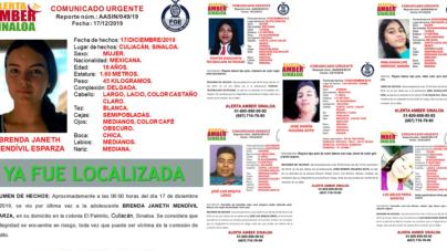 Sana y salva   Apareció Brenda, pero cinco jóvenes siguen desaparecidos en Sinaloa