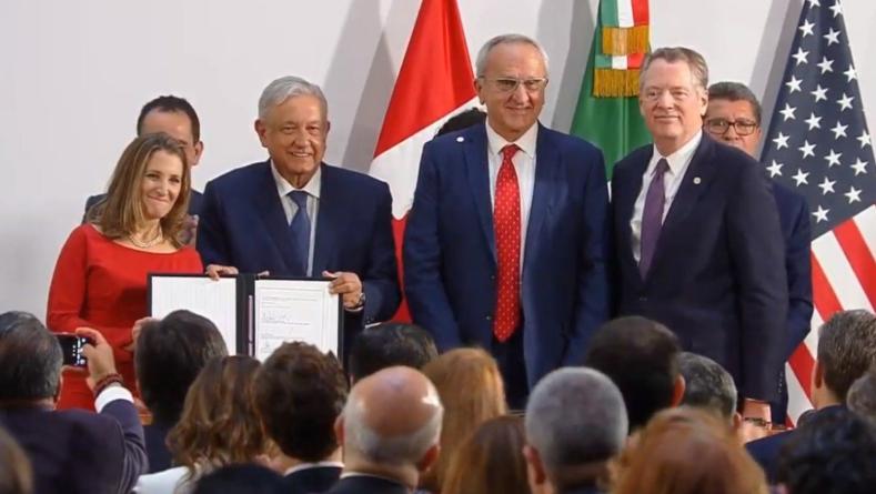 Hay nuevo acuerdo | Firman en Ciudad de México versión modificada del T-MEC