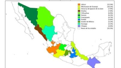 Sinaloa, cuarto lugar en PIB del sector primario