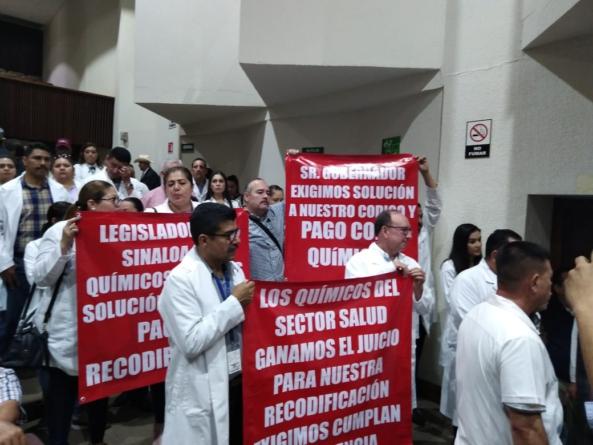 Erario público | Gobierno de Sinaloa debe 30 mdp a químicos y la deuda sigue creciendo