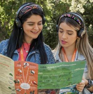 ¡Ponte los audífonos! | Invita Botánico a conocer más sobre su flora con Audiotours