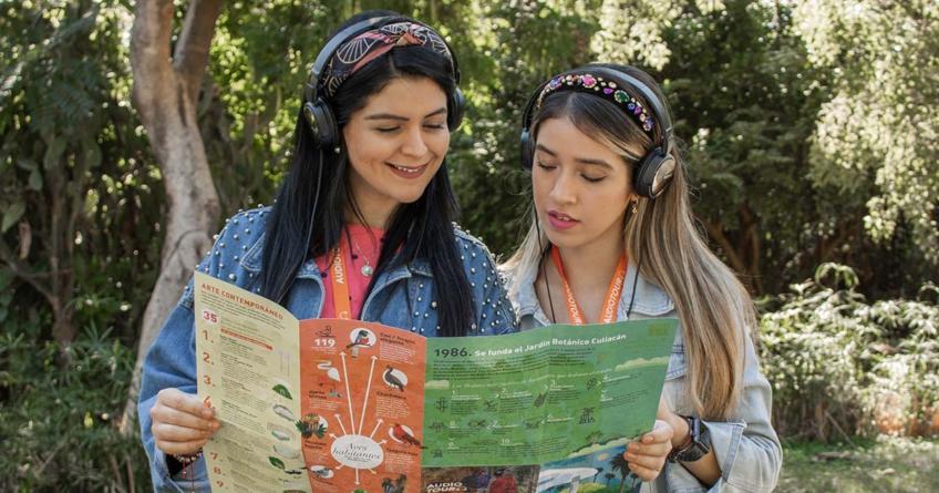 ¡Ponte los audífonos!   Invita Botánico a conocer más sobre su flora con Audiotours