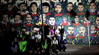 'Por nuestros desaparecidos' | Convocan a realizar segundo mural en Defensa de la Memoria