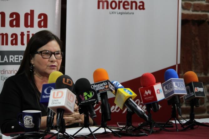 Imelda Castro: sí pero no; la senadora habla de su posible candidatura al Gobierno de Sinaloa