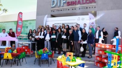 DIF Sinaloa entrega equipamiento a Centros de Cuidado Infantil Comunitarios