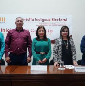 Inicia Congreso consulta indígena electoral