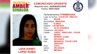 ¿La has visto? | Lidia, de 15 años, desapareció en Culiacán; solicitan ayuda para localizarla