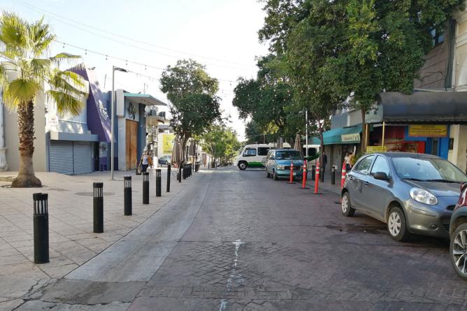 Patronato de Centro Histórico se opone a peatonalización de calles en el centro de Culiacán
