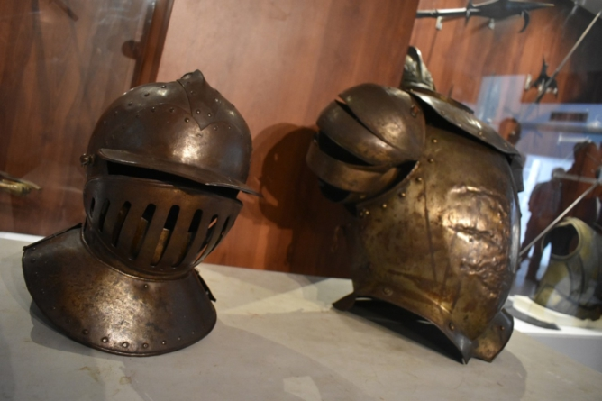 Regresan a Culiacán Armadura y casco españoles de época de la Conquista