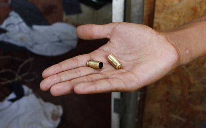 Efecto ESPEJO   ¿Dónde está tu bala perdida? En el cuerpo de un ciudadano pacífico