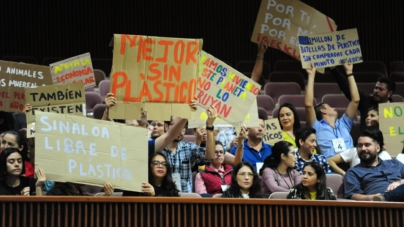 Aprueba Congreso Sinaloa sin plástico; reforma a Ley de Residuos pasa 'contaminada' por empresarios