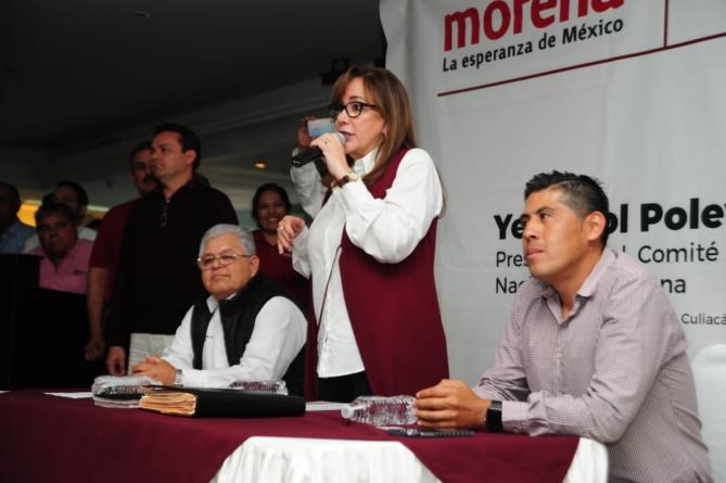 Polevnsky | Nombres de Vizcarra y Gerardo Vargas aparecen en visita de presidenta nacional de Morena