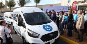 Ruta Azul | Ponen en marcha transporte especializado para personas con discapacidad