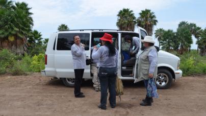 Roban vehículo de búsqueda a Sabuesos Guerreras; continúa confrontación con comisionado