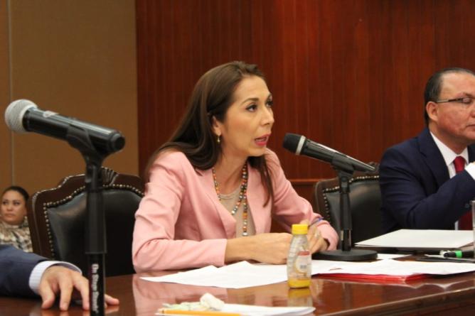 Cambio de estrategia en materia de seguridad exige al gobierno federal, la diputada Ana Cecilia Moreno Romero