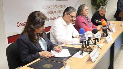 Firman Convenio 63 Legislatura e INE para usar boleta electrónica en consultas