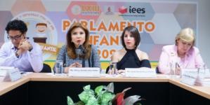 Lanzan convocatoria para integrar el Parlamento Infantil 2020