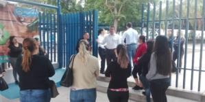 Atiende SSP supuesta amenaza de ataque dentro de colegio en Culiacán