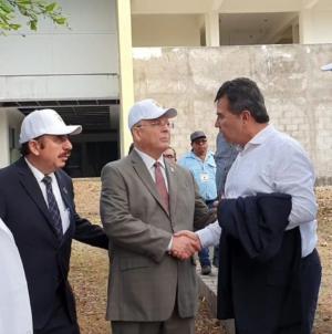 Supervisan rector y Jesús Vizcarra obras de Campus Buelna y Campus de la Salud de la UAS